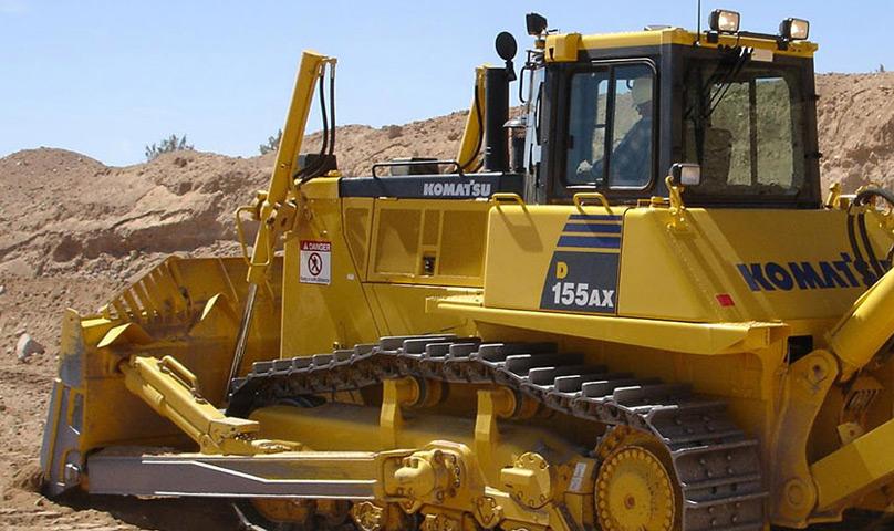 The Perfect Material Removal Machine: Komatsu Crawler Dozer D155A-6
