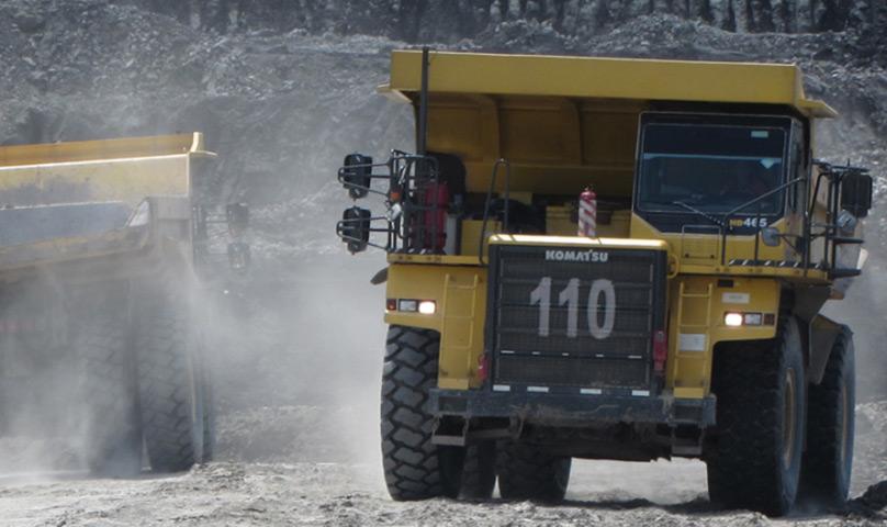 Komatsu Dump Truck HD465-7 Provides Solution For Mining Sector