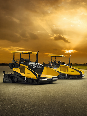 Bomag Asphalt Finisher BF800 C: A Perfect Choice For Airport Construction Project