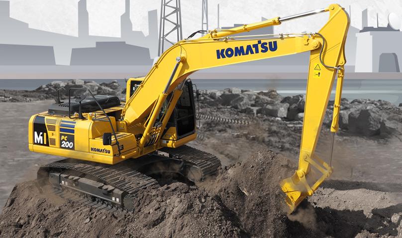 Komatsu PC200-8M1: The Real Construction Worker Pilihan Tepat Untuk Konstruksi Bandara dan Pelabuhan