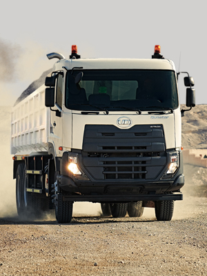 UD Trucks Quester CGE370 dan CWE370: Pilihan Tepat untuk Pertambangan Batu Bara