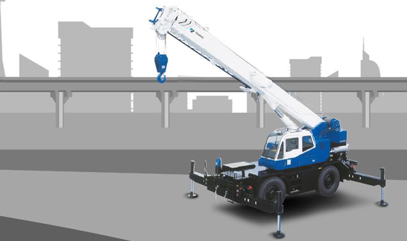 Tadano Rough Terrain Crane GR-300EX, Crane Terbaik untuk Sektor Konstruksi