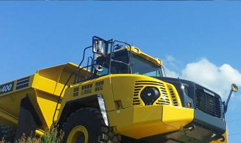 Articulated Dump Truck HM400-3R is Built To Last
