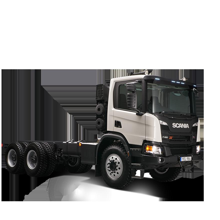 P460-B8X4 Heavy Tipper