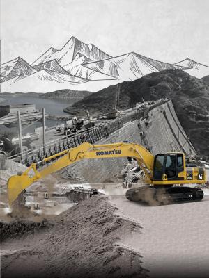(Indonesia) Komatsu PC200-8M1: The Real Construction Worker, Wujudkan Pembangunan Bendungan Indonesia