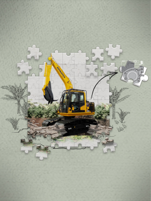 Komatsu PC135F-10M0: More Efficient & Reliable in the Forestry Sector