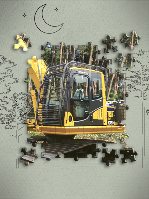 Komatsu PC135F-10M0: Safety and Comfort as Main Priority