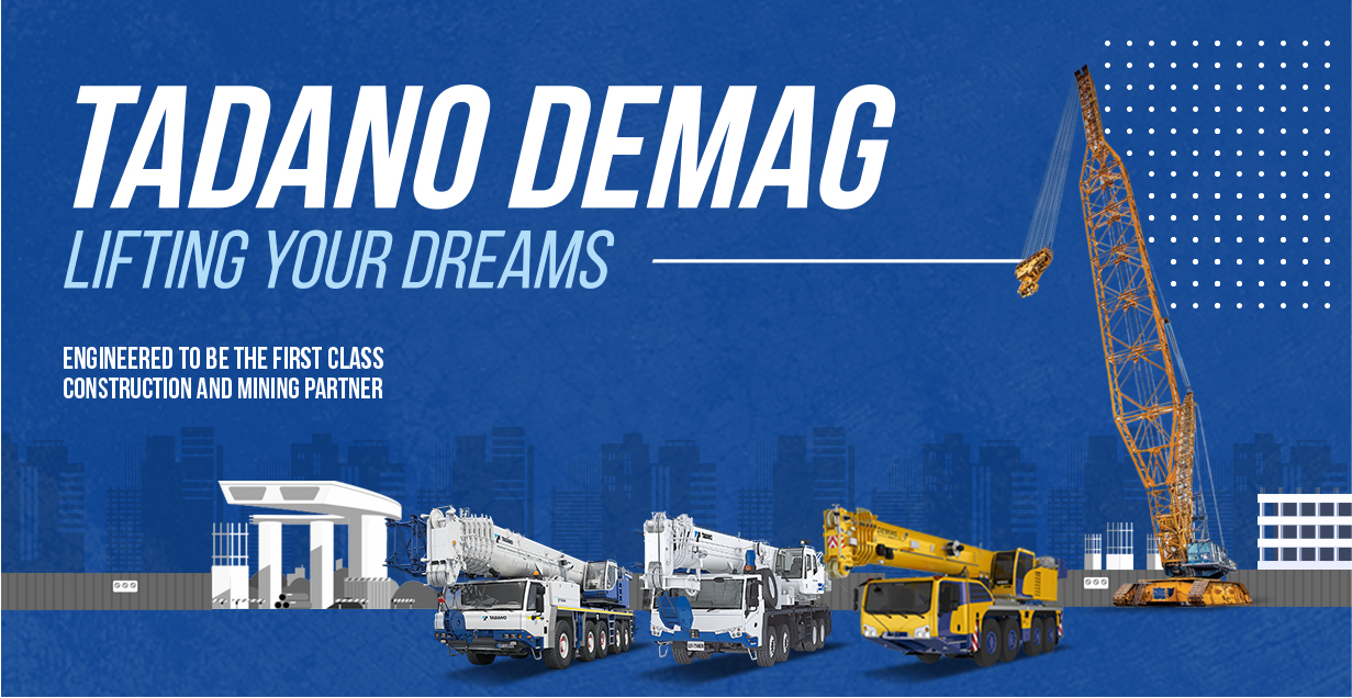 With Tadano: United Tractors Presents the Most Complete Range of Crane in Indonesia